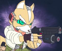 Fox McCloud Vector by Tigrshark