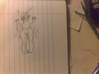 new fursona, she need a name tho by DarlingDark1779
