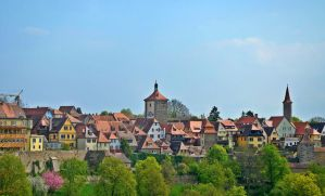 The rooftops of Rothenburg by Irondoors