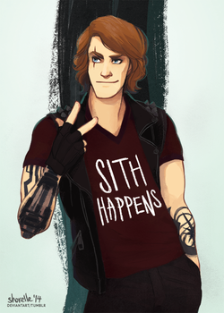 star wars - sith happens by shorelle
