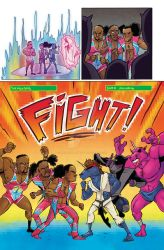 WWE: New Day Issue 3 page 4 COLORS by Taylor-the-Weird