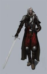Old Mercenary by dimelife