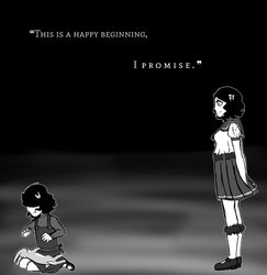 This Is a Happy Beginning, by Hornets-N-Tribes