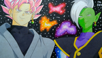 Prismacolor | Goku Black and Zamasu by Artworx88