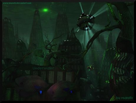 Lost City - Underwater by Miarath