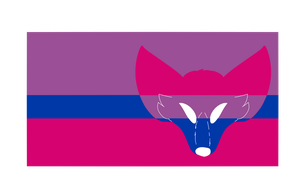 Bisexual Furry Flag by DovahCourts
