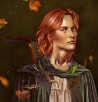 Kvothe the Kingkiller by Silvaticus