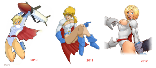 powergirl 2010-2012 by Flick-the-Thief