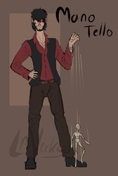 Mano /OC reference/ by SolarSpaniel