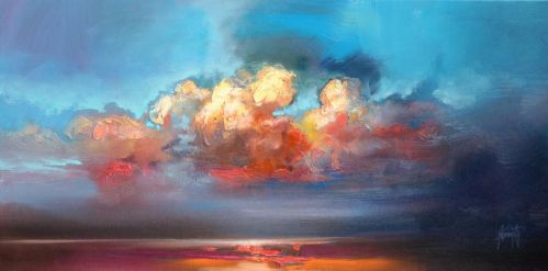 Vermillion Cumulus by NaismithArt