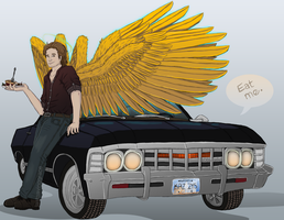 SPN: What? He Looks Better This Way by lastsavinggrace