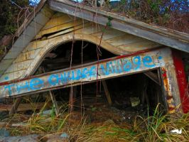 A Old Broken Down Shed by wolfwings1