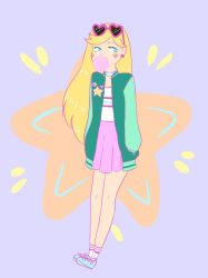 Star Butterfly - Bubblegum by maidenofmice