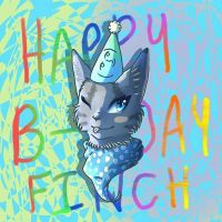 Happy Birthday Finchwing by JappyCat