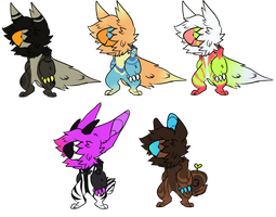 Hooded Parrotdragon Batch [OPEN] by V-l-R-A-L