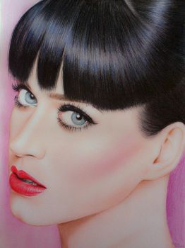 Drawing Katy Perry by Maria Petrov by MariaPetrov