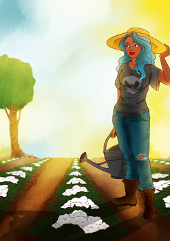 Farmer Suzy by VarencaFISH