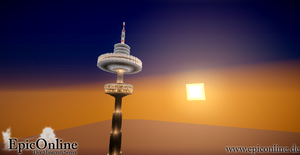 Minehattan Television Tower by EpicOnline