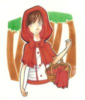 The Red Riding Hood by 3lda