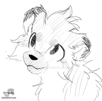 Xinji Headshots Sketch Gift by JB-Pawstep