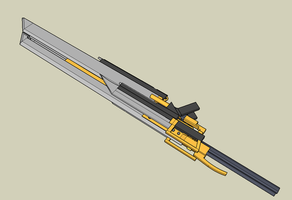 complet buster sword re-done by McDraw