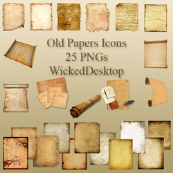 Old Papers by WickedDesktop