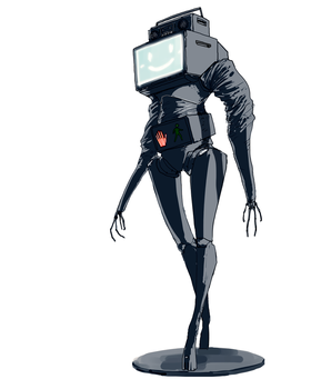 Tv Robot by Gauntes