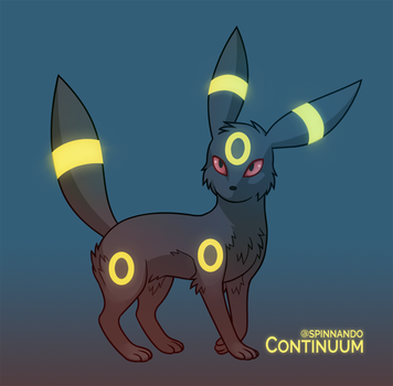 Umbreon by spinnando