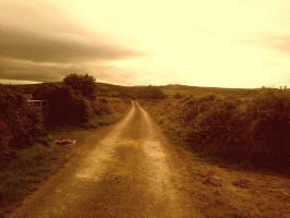 Road Leading Nowhere by lisah2625