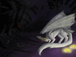 I'm not afraid of the dark! by miayan