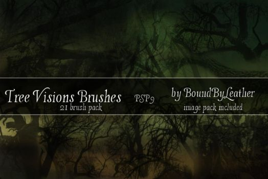 Tree Visions PSP Brushes by Bound-By-Leather