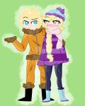 South Park/OC~ JolinexKenny Commission by Momuslovescats