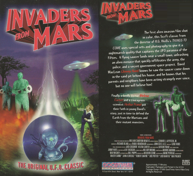 Invaders From Mars 1953 On Good Ol' V H S by DARKZADAR-ZERO