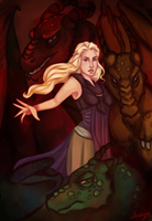 The mother of Dragons by Amaryia
