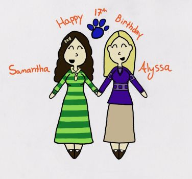 Happy Birthday, Alyssa! by Sassafras-Tea