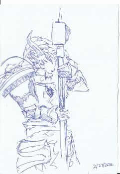 Untitled - Charr by flamealchemis