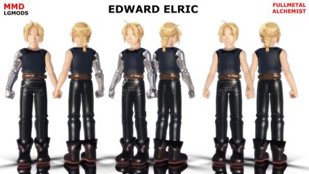 [MMD DL] FMA : EDWARD ELRIC (Download) by LGMODS