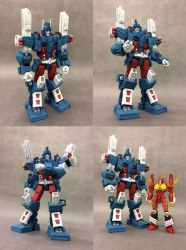 Mtmte Ultra Magnus replica by Klejpull