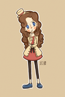 Lady Layton by scribledoubleguy