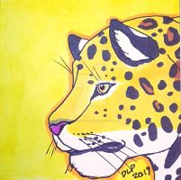 Jaguar on Yellow