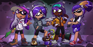 A single squid don't make a squad by Feline-gamer