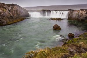 Godafoss by cwaddell