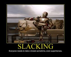 Slacking Motivational Poster by QuantumInnovator