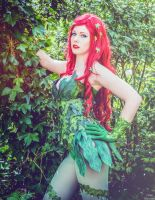 Poison Ivy Cosplay by HyiliaCosplay