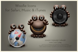 Woofie Icons by SoundForge