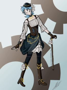 Ally Steampunk by Shiro-kokoro