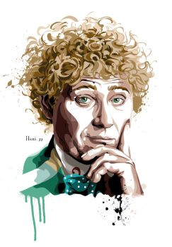 The Sixth Doctor Who by hansbrown-77