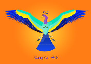 Cang Yu, the Azure Phoenix by PetroBeherha
