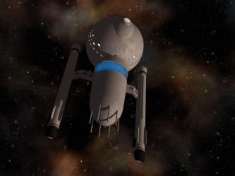 Medusan ship from TOS-R by davemetlesits