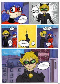 Chat Noir's girlfriend-page 1 by Noemie12